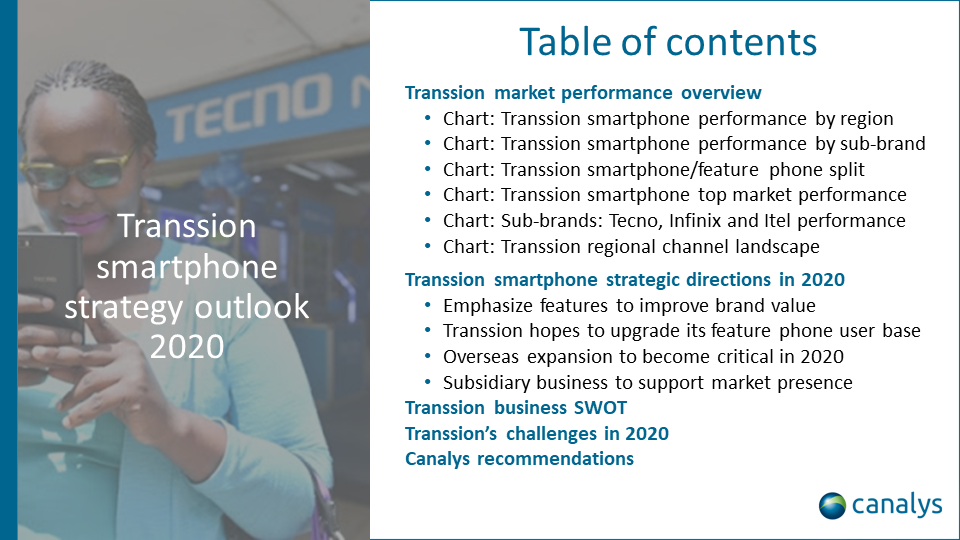 Transsion smartphone strategy outlook