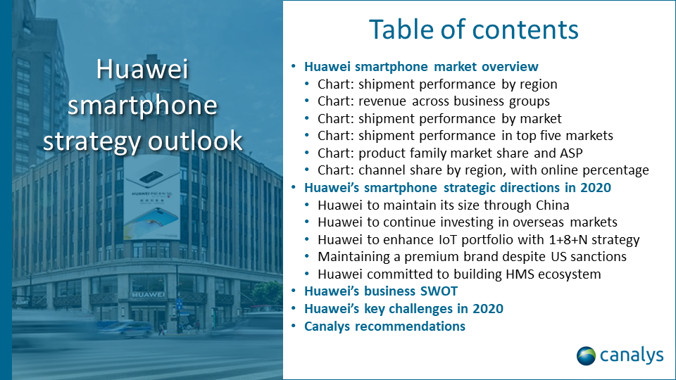 Huawei smartphone strategy outlook