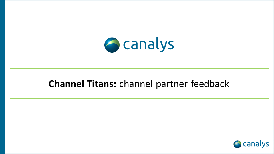 EMEA channel titans performance Q2 2020