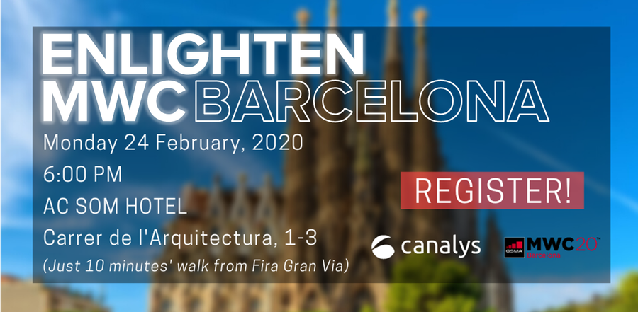 Canalys Enlighten 2020 - MWC Barcelona