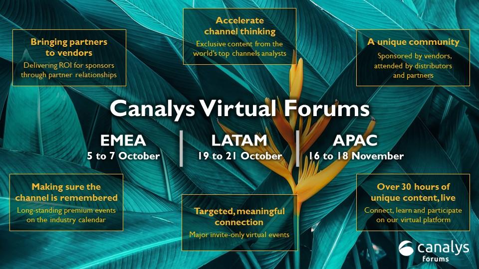 Canalys Forums 2021 agenda