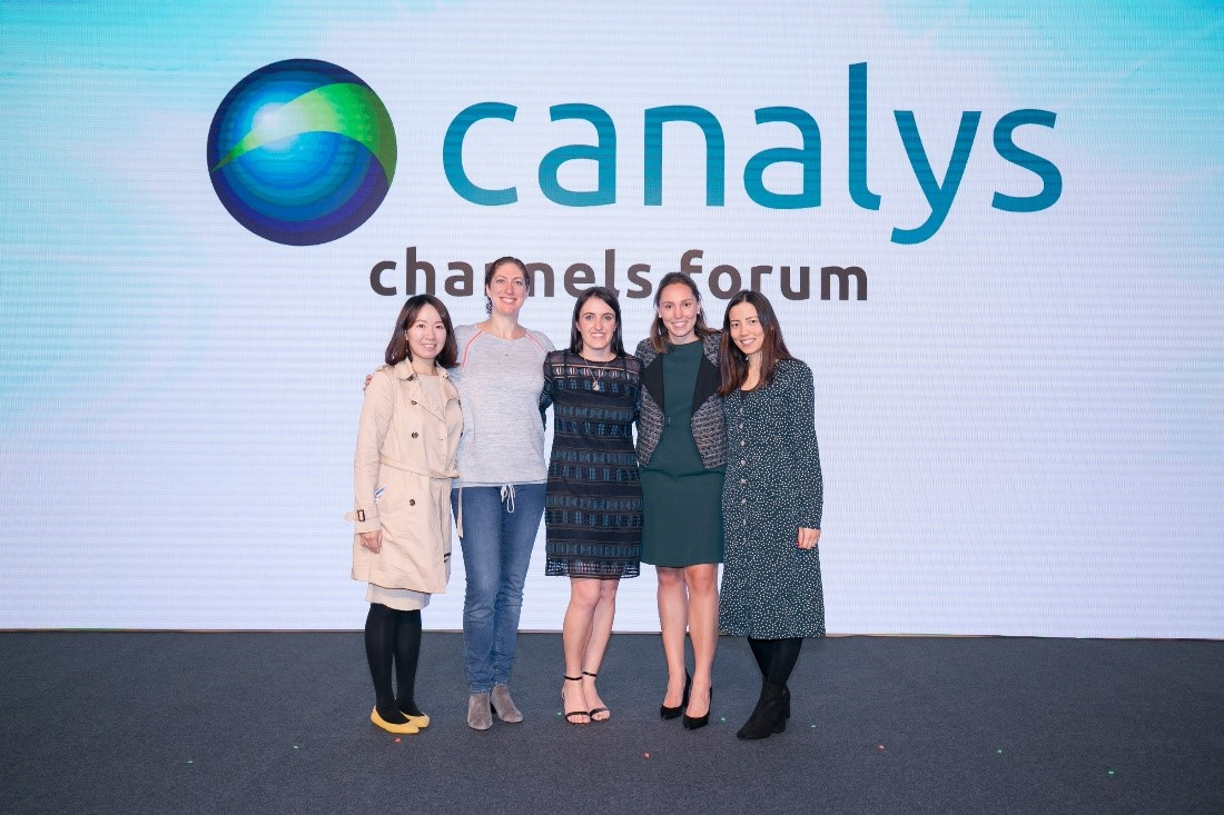 Canalys event team